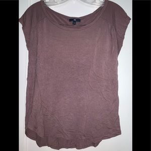 Small Gap Shirt, Purple/Brown